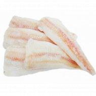 Рыба «Филе хека» мороженое, 1 кг., фасовка 0.75-1.25 кг
