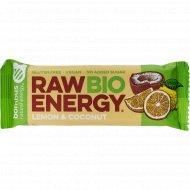 Батончик фруктовый «Raw Energy Bio» лимон и кокос, 50 г
