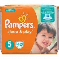 Подгузники «Pampers» Sleep & Play, 11-18 кг, 5 размер, 42 шт.