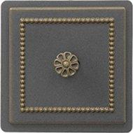 Дверца печная «Везувий» прочистная 235, бронза