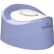 Горшок детский «Kidwick» Мини, KW010502, фиолетовый/белый