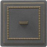Дверца печная «Везувий» прочистная 237, бронза