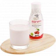 Йогурт из козьего молока с вишнёвым вареньем 3.0-4.5%, 250 г.