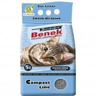 Наполнитель для туалета «Super Benek» компакт, 5 л.