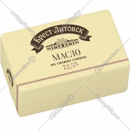 Масло сладкосливочное «Брест-Литовск» несолёное 72.5%, 180 г.