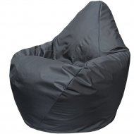 Бескаркасное кресло «Flagman» Груша Мини Г0.1-01, черный