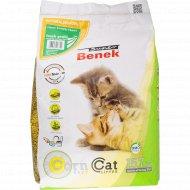 Наполнитель для кошачьего туалета «Suner Benek» свежая трава, 25 л.