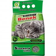 Наполнитель для туалета «Super Benek» зеленый лес, 5 л.