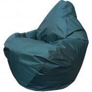 Бескаркасное кресло «Flagman» Груша Мини Г0.1-05, темно-зеленый