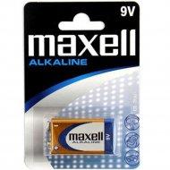 Батарейка «Maxell» Alkaline, 6LR61, 1 шт