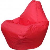 Бескаркасное кресло «Flagman» Груша Мини Г0.1-06, красный