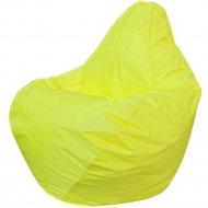 Бескаркасное кресло «Flagman» Груша Мини Г0.1-07, желтый