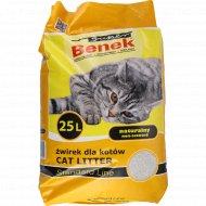 Наполнитель для кошачьего туалета «Suner Benek» натуральный, 25 л.