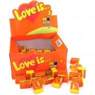 Жевательная резинка «Love is…» со вкусом ананаса и апельсина, 4.2 г.