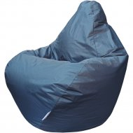 Бескаркасное кресло «Flagman» Груша Мини Г0.1-11, темно-серый