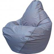 Бескаркасное кресло «Flagman» Груша Мини Г0.1-12, светло-серый