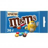 Драже «M&M» криспи 36 г.