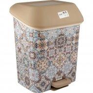 Контейнер для мусора с педалью «Марокко» 15 л.