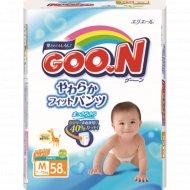 Подгузники-трусики «Goo.N» М, 7-12 кг, 58 шт.