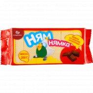 Вафли «Ням-Нямка» со вкусом шоколада, 200 г.