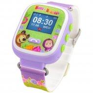 Часы-телефон с GPS для детей «Маша и Медведь» М1.