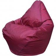 Бескаркасное кресло «Flagman» Груша Мини Г0.1-16, бордовый