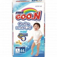 Подгузники-трусики «Goo.N» для мальчиков,L , 9-14 кг, 44 шт.
