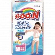 Подгузники-трусики «Goo.N» для девочек, L, 9-14 кг, 44 шт.