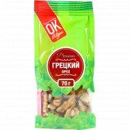 Грецкий орех «Premium ОК» очищенный, 70 г.