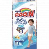 Подгузники-трусики «Goo.N» для мальчиков, ХL, 12-20 кг, 38 шт.