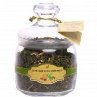 Чай зеленый «Чайная коллекция» с имбирем, 120 г.
