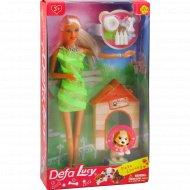 Кукла с собачкой арт.8232.