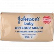 Мыло «Jonson's Baby» с миндальным маслом, 100 г.