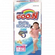 Подгузники-трусики «Goo.N» для девочек, ХL, 12-20 кг, 38 шт.