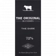 Шоколад горький «Bucheron the original» 72%, 100 г
