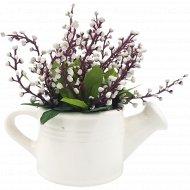 Цветы искусственные в горшке, C1335.