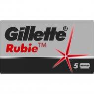 Лезвия для бритв «Gillette» Rubie Platinum plus, 1 шт.