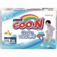 Подгузники-трусики «Goo.N» для мальчиков, 13-25 кг, 28 шт.