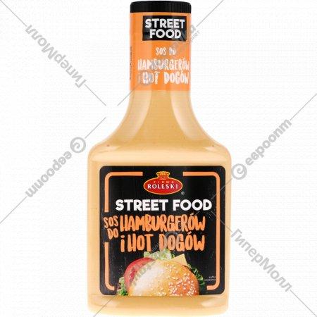 Соус майонезный «Street Food» для гамбургеров и хот-догов, 300 г.
