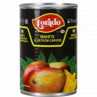 Манго «Lorado» в легком сиропе, 425 мл.