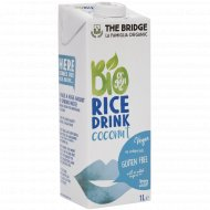 Напиток рисовый «Bio Rice Drink» с кокосом, 1 л.