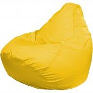Бескаркасное кресло «Flagman» Груша Мега Г3.1-07, желтый