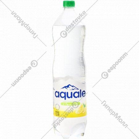 Вода газированная «Березинская» со вкусом лимона, 1.5 л.