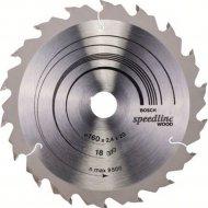 Диск пильный «Bosch» Speedline Wood, 2608640787, 160х20 мм
