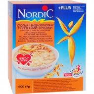 Хлопья «NordiC» 4 вида зерновых с овсяными отрубями 600 г