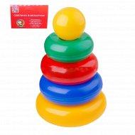 Набор пирамидка «Малыш» 4 кольца.
