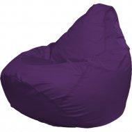 Бескаркасное кресло «Flagman» Груша Мега Г3.2-12, фиолетовый