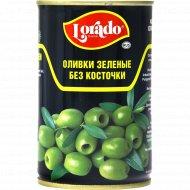 Оливки зеленые «Lorado» без косточки, 314 мл.