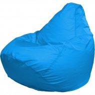 Бескаркасное кресло «Flagman» Груша Мега Г3.2-14, голубой