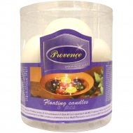 Набор свечей «Provence» 560115/02 белый, 4.3 см, 8 штук